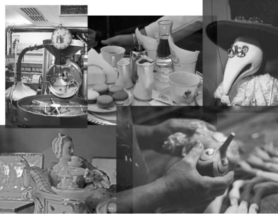 Il caffè, la cioccolata e il teatro di marionette