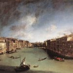 Canaletto, Canal Grande, Ca' Rezzonico Venice
