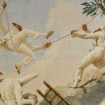 Punchinello on the swing, Giandomenico Tiepolo in Ca' Rezzonico, Venice