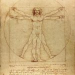 Leonardo da Vinci, Vitruvian Man, Venice, Accademia Gallery, Bossi collection