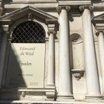 Ateneo Veneto, Psalm by Edmund de Waal, Venice, 2019