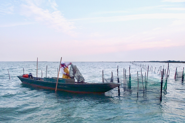Painters and fishermen of Burano