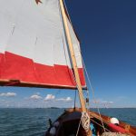 The southern Venice lagoon on a sailboat