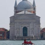 The Pink Lioness team and the tradition of women rowing in Venice